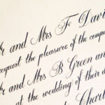 Copperplate Invitation