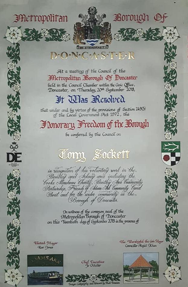 Doncaster - Tony Sockett
