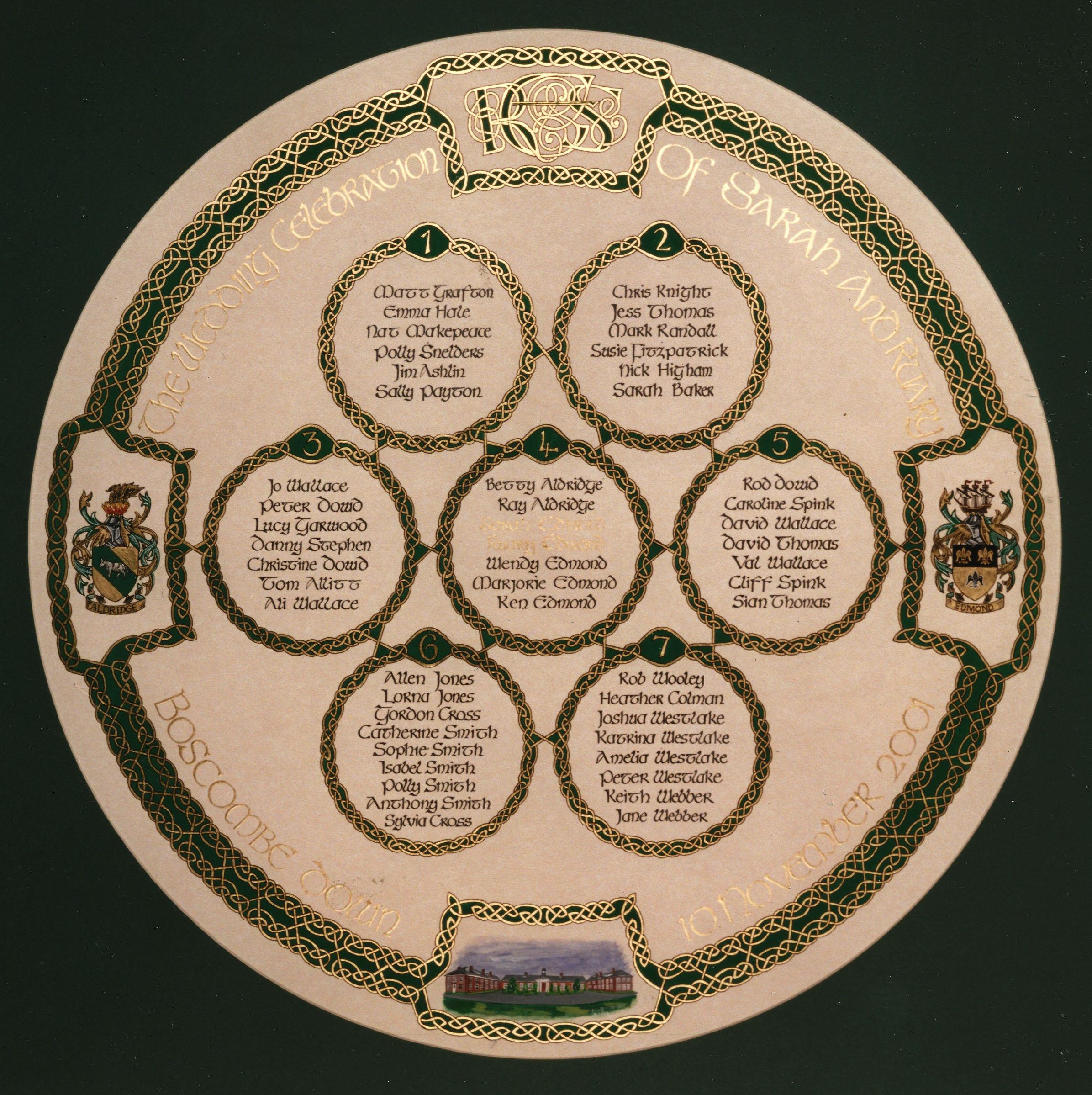 Aldridge Seating Plan Celtic WD